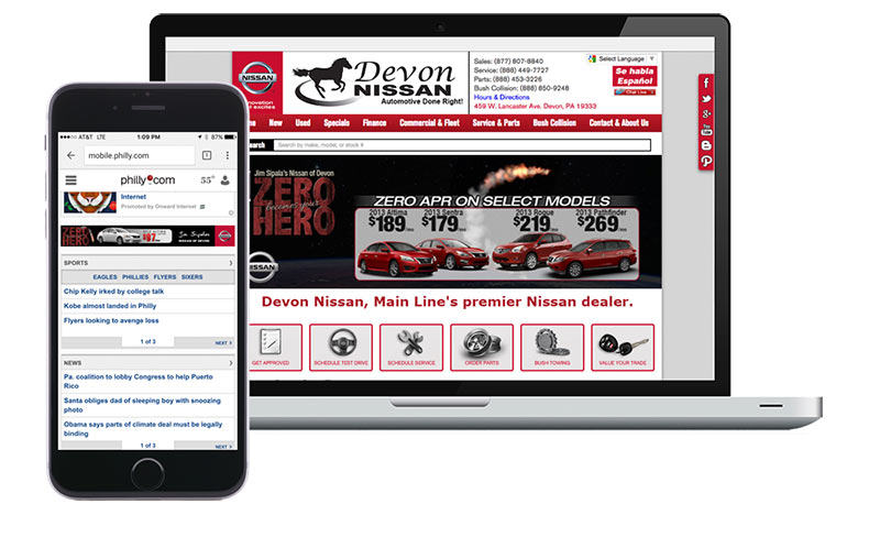 Digital Banners Automotive Creative