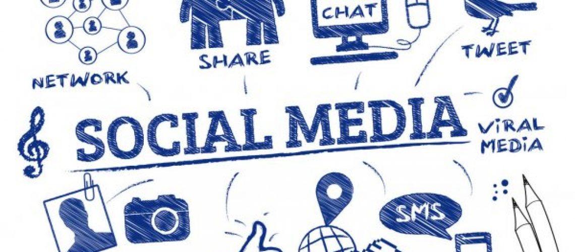 social media small business stock photo